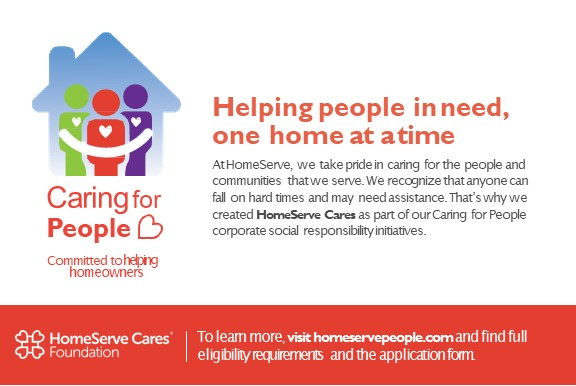 Helping people in need, one home at a time
