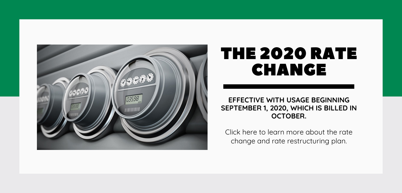 The 2020 Rate Change