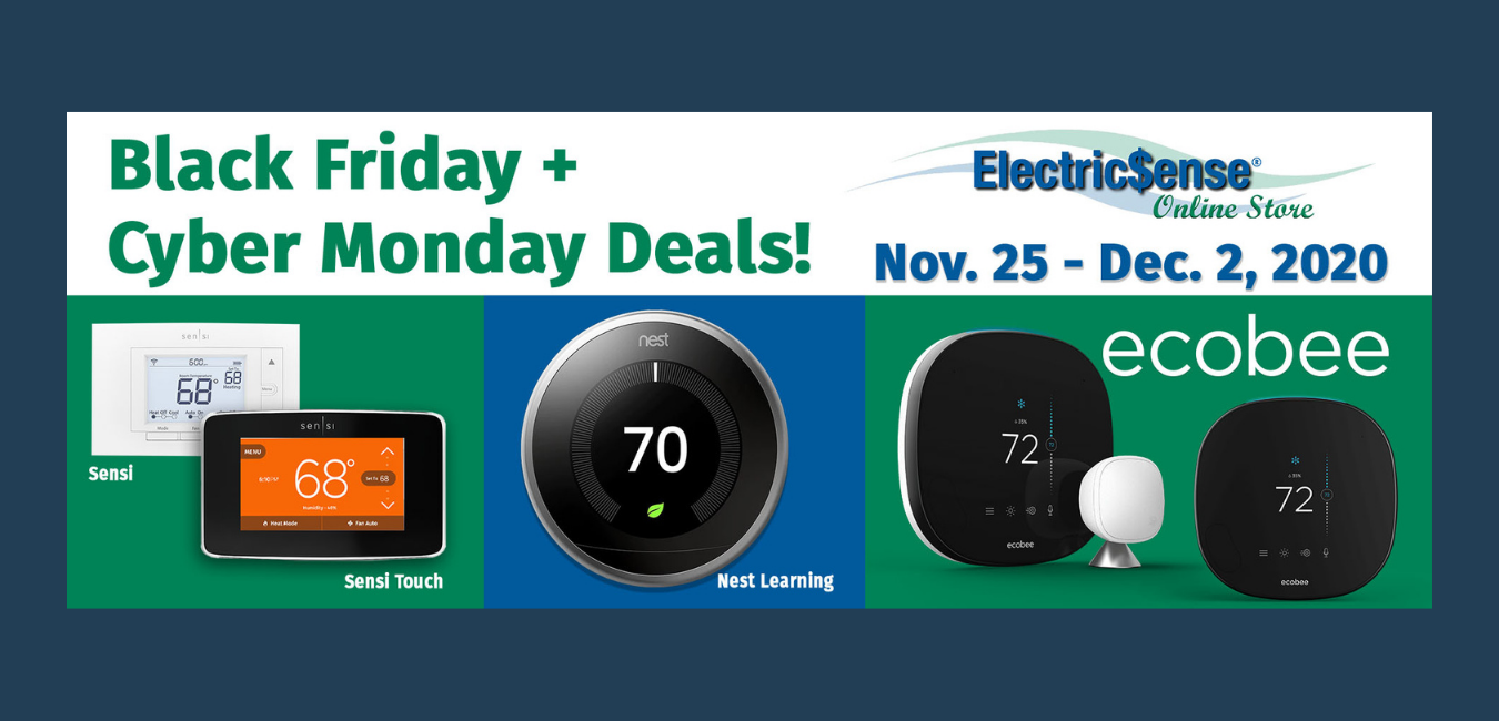 Black Friday and Cyber Monday ElectricSense Deals